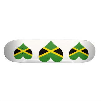 Buy Jamaica Flag Custom Skateboard