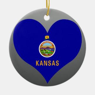 Buy Kansas Flag Christmas Ornament