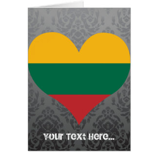 Buy Lithuania Flag Greeting Card