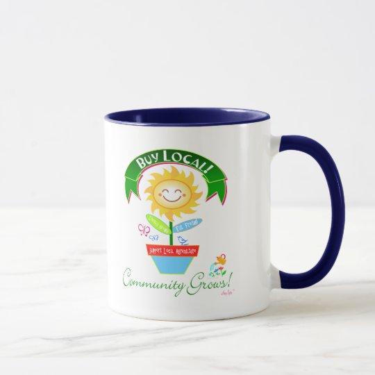 Buy Local Community Grows Mug