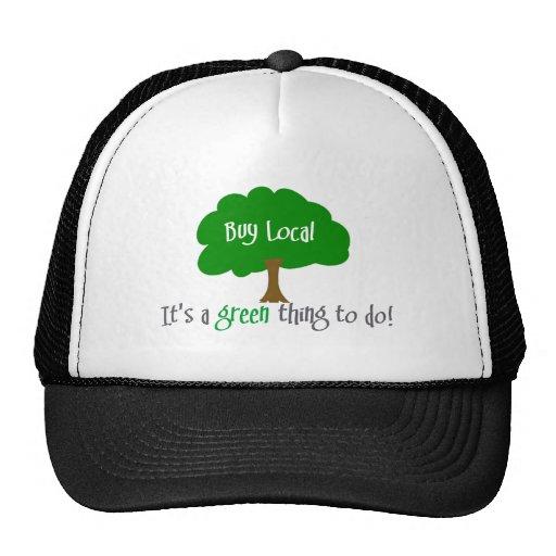 Buy Local Mesh Hats