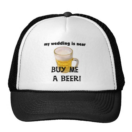 Buy Me a Beer Bachelor Party Tshirts and Gifts Mesh Hat