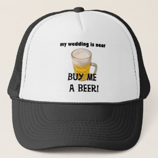 Buy Me a Beer Bachelor Party Tshirts and Gifts Trucker Hat