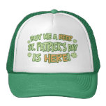 Buy Me A Beer St. Patrick's Day Cap