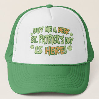 Buy Me A Beer St. Patrick's Day Trucker Hat