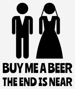 9f3bc387 Buy Me A Beer The End Is Near Bachelor Party T-Shirt