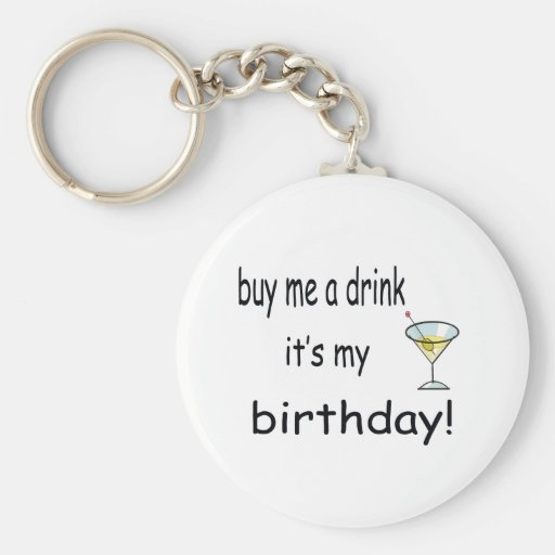 Buy Me A Drink Keychains