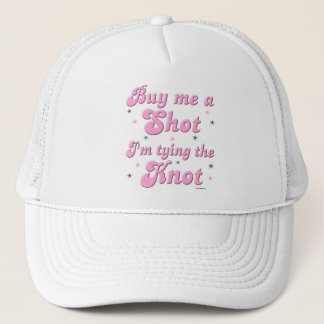 Buy me a Shot bachelorette hat