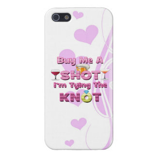 buy me a shot i'm tying the knot sayings quotes iPhone 5 cover