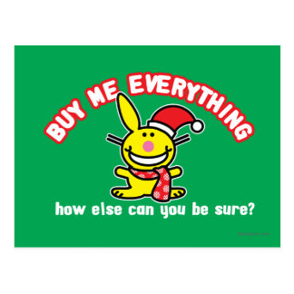 Buy Me Everything Postcard