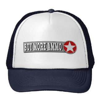 Buy More Ammo Funny Ammunition Cap