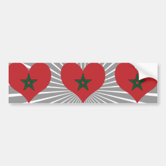 Buy Morocco Flag Bumper Sticker