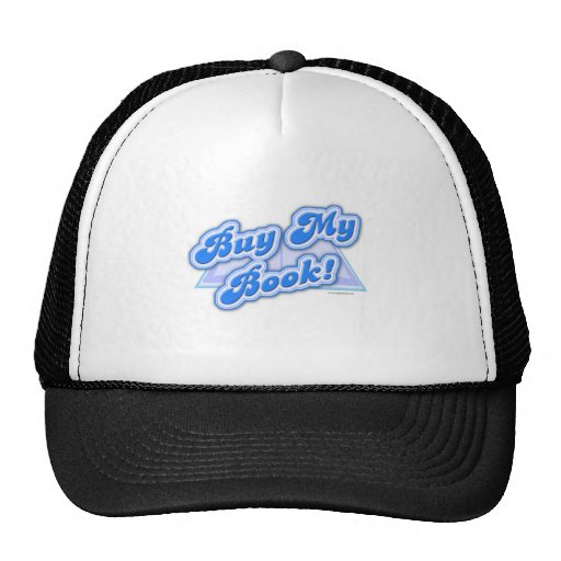 Buy My Book Blue Style Hats