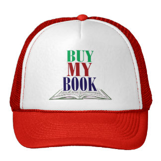 Buy My Book Cap