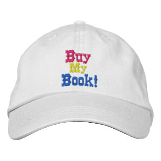 Buy My Book Embroidered cap