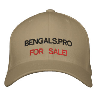 BUY NOW! Bengals.pro Embroidered Baseball Caps