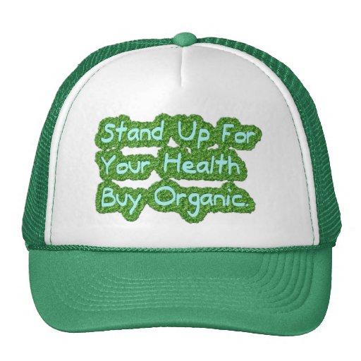 Buy organic trucker hat