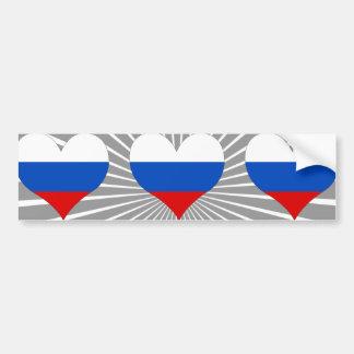 Buy Russia Flag Bumper Sticker