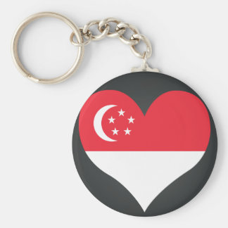 Buy Singapore Flag Key Ring