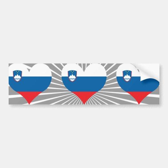 Buy Slovenia Flag Bumper Sticker