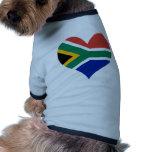 Buy South Africa Flag Dog Clothing
