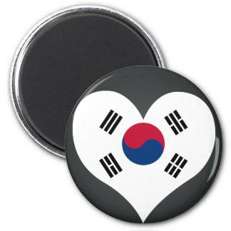 Buy South Korea Flag 6 Cm Round Magnet