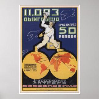 Buy Soviet Lottery Poster