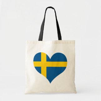 Buy Sweden Flag Tote Bag