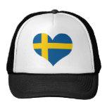 Buy Sweden Flag Trucker Hats