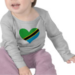 Buy Tanzania Flag Tshirt