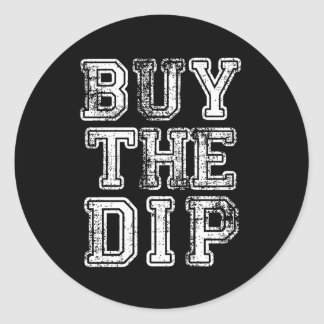 Buy the Dip Print Classic Round Sticker