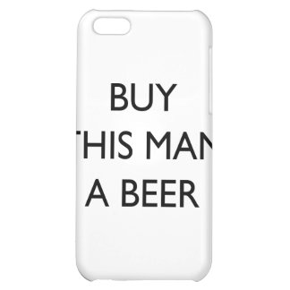 Buy This Man A Beer Cover For iPhone 5C