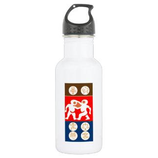 Buy to DISPLAY n ENJOY : ZODIAC ART SYMBOLS 532 Ml Water Bottle