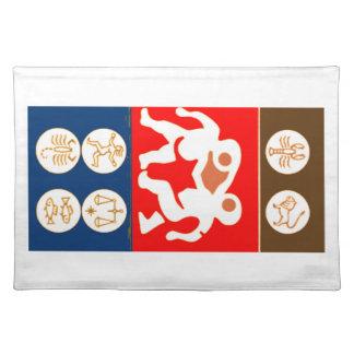 Buy to DISPLAY n ENJOY : ZODIAC ART SYMBOLS Placemat