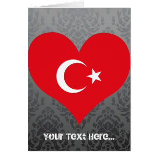 Buy Turkey Flag Greeting Card