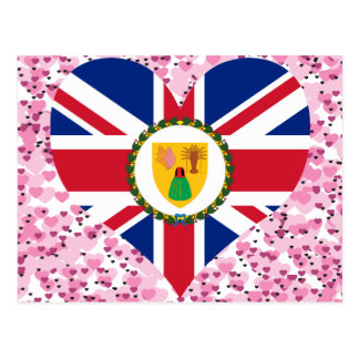 Buy Turks and Caicos Islands Flag Post Card