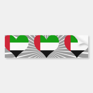 Buy United Arab Emirates Flag Bumper Sticker