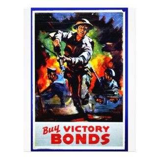 Buy Victory Bonds 21.5 Cm X 28 Cm Flyer