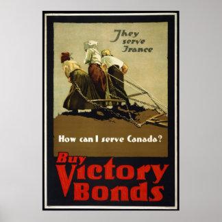 Buy Victory Bonds Poster
