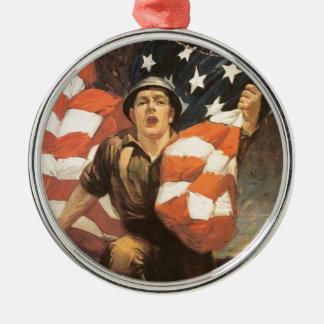Buy war bonds christmas ornament