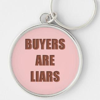 Buyers are Liars Keychain