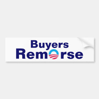 Buyers Remorse Bumper Sticker