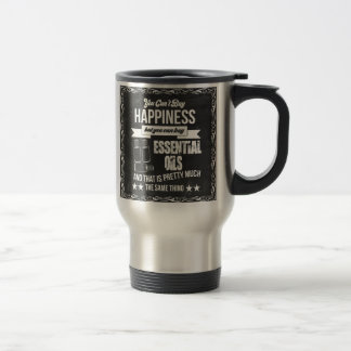 Buying Essential Oils equals Happiness Travel Mug