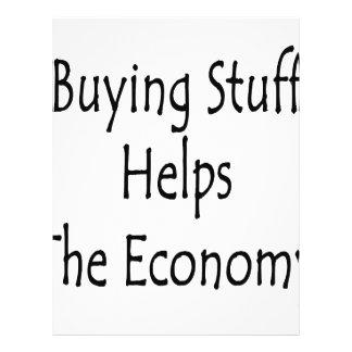 Buying Stuff Helps The Economy Flyers