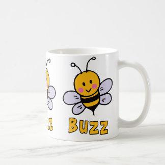 Buzz Buzz Bee Basic White Mug