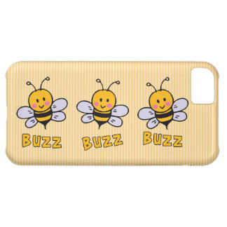 Buzz Buzz Bee Cover For iPhone 5C