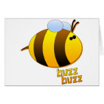 Buzz Buzz the Bumblebee Greeting Card