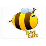 Buzz Buzz the Bumblebee Postcard