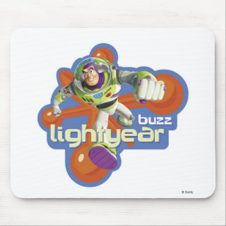 Buzz Lightyear Logo Mouse Pad