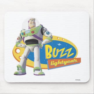 Buzz Lightyear Standing Strong Mouse Pad